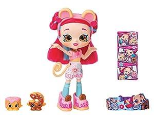 Shopkins Shoppies - Muñecas temáticas Serie 9 - Donatina Monkey