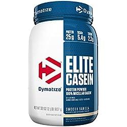 Dymatize 907g Elite Casein Vanilla Powder