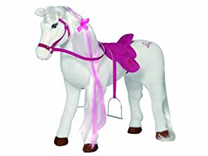 Happy People 58035 – Barbie peluche cheval – majesty