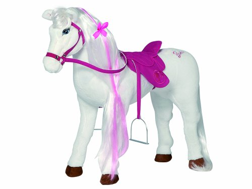"Happy People 58035 - Cavallo di peluche di Barbie ""Majesty"""