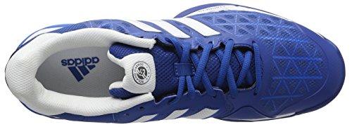 adidas Herren Barricade Club Clay Tennisschuhe Azul / Blanco (Eqtazu / Ftwbla / Azuimp)