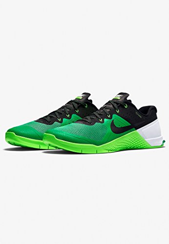 Nike Metcon 2, Chaussures de Sport Homme, Noir Verde / Noir / Blanco (Spring Leaf / Black-Vltg Grn-Wht-)