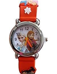 Festive Offer: Frozen Analog Colorful Watch ( Colors May Vary)- For Girls