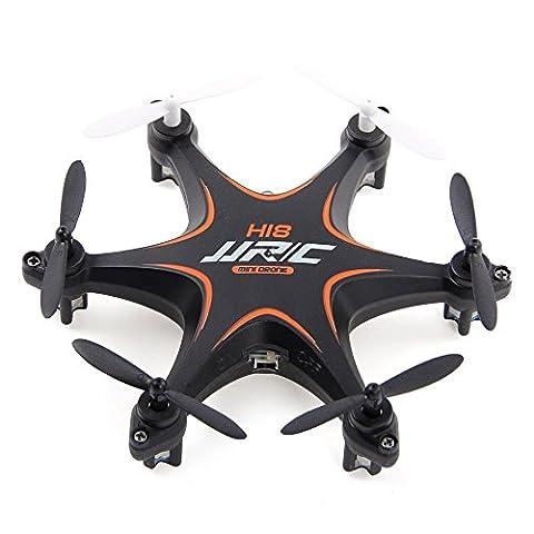 Mini rouleau 3D Drone, megadream jjrc H18360° se repliant RC Quadcopter avec transmetteur 2.4GHz 4CH Jouet Quadcopter RTF 6axes 4CH sans mode sans fil 2,4GHz Quad Copter avec télécommande et lumière LED pour VOL de nuit