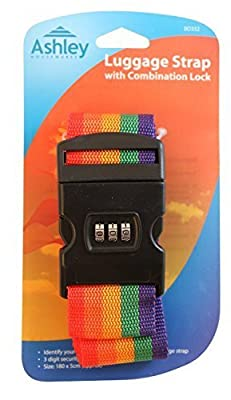 ASHLEY Luggage Strap with Combination Lock - low-cost UK light shop.