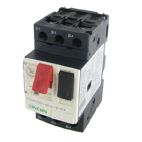sourcingmap® 3P Motor Starter Circuit Breaker Protector 6-10A 690V