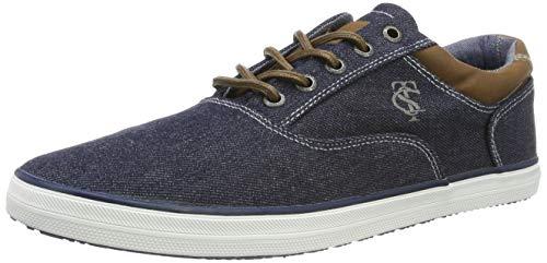 TOM TAILOR Herren 6981506 Sneaker, Blau (Navy 00003), 40 EU - Toms Blau-herren