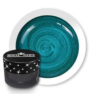 Gel de couleur pour ongles n° 166 Blizzard Blue Glimmer