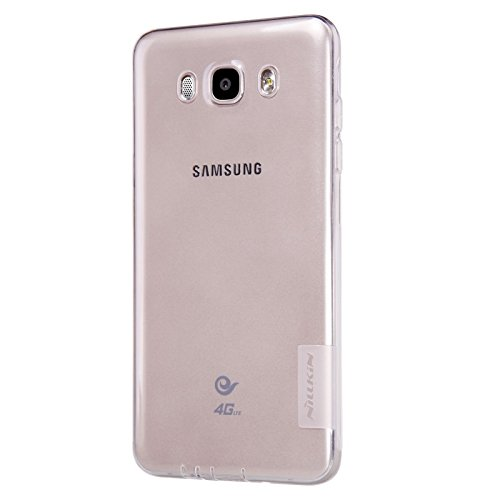 ( Samsung Galaxy J7 (6) 2016 New Edition ) Original NILLKIN 0.6mm Nature TPU Soft Back Cover Case for Samsung Galaxy J7 (6) 2016 New Edition ( White )
