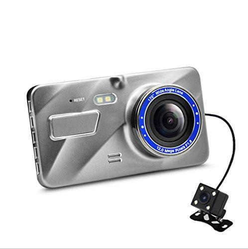 ABBY AFENG Full HD 1080P Dashcam Autokamera Video Recorder mit 170° Weitwinkelobjektiv, 3 Zoll LCD-Bildschirm, WDR, Bewegungserkennung, Parkmonitor, Loop-Aufnahme, Nachtsicht und G-Sensor