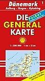 Die Generalkarten Dänemark, Bl.1, Skagen, Alborg (Maßstab 1:200.000) -