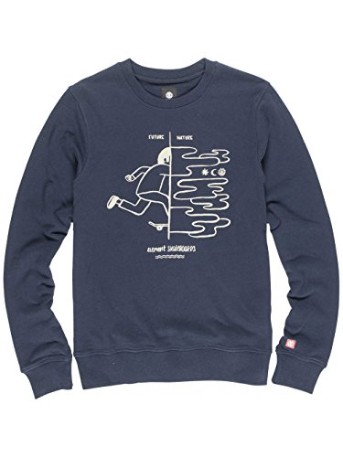 Herren Sweater Element Future Nature Crew Sweater eclispe navy