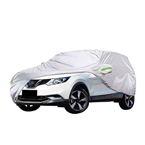 Autoabdeckung Kompatibel mit Nissan Qashqai Schutzhülle Regenfest Schneesicher Anti-UV Sonnenschutz Kratzfest Vollständige Außenabdeckungen Körperautoabdeckung Plane (Color : 2019-Qashqai)