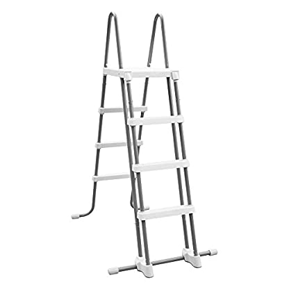 Escalera de seguridad Intex 28073 (4 peldaños) para paredes de 122 cm de altura