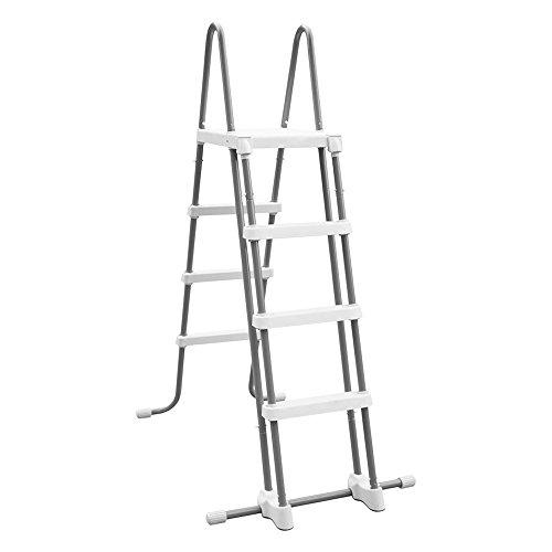 Intex Deluxe Pool Ladder - Poolleiter - Schwimmbadleiter - Sicherheitsleiter - 122 cm (Poolhöhe)