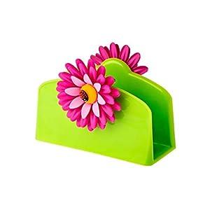 NV 'Set – Flower Power portatovaglioli & Carta – servitten con Puntini Colorati ~