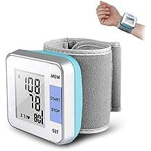 LLFFDC Monitor Electrónico De Presión Arterial De Muñeca Medidor De Presión Arterial Inteligente Automático ...