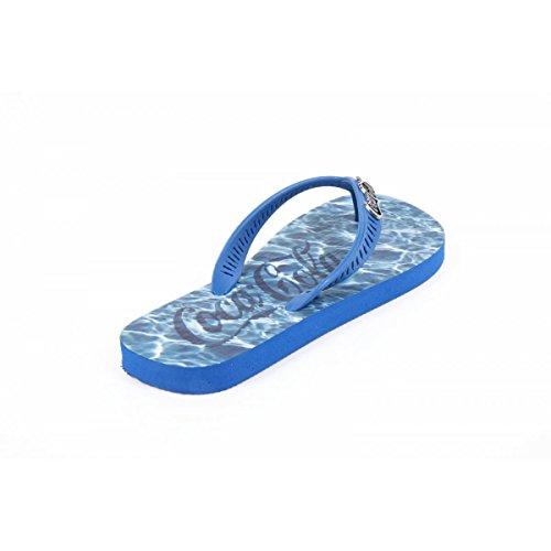 Coca Cola Herren Flip-Flops CCA2006 WATER BlauE Blau