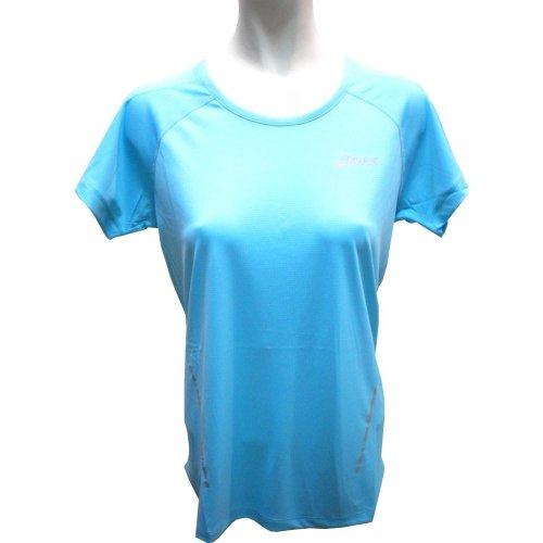 Asics t-shirt à manches courtes pour femme 110422 Turquoise - Aquarium