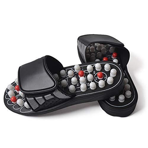 nmassage Hausschuhe, Akupressurmassage Sandalen Schuhe für Männer Frauen, Relief Plantarfasziitis Fersenbogen Arthritis Neuropathie Schmerzen ()