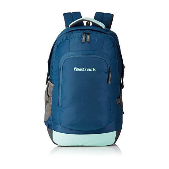 Fastrack 32.77 Ltrs Blue School Backpack (A0703NBL01)