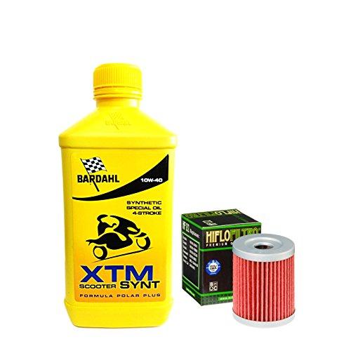 Kit tagliando Bardahl XTM Scooter 10W40 filtro olio S u z u k i AN Burgman 250/400