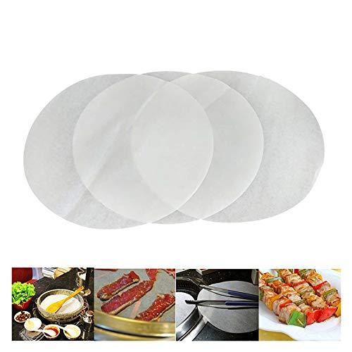 papier Kreise Antihaft Backpapier backen Papier Kreise Liners für runde Kuchen Pfannen 20cm ()