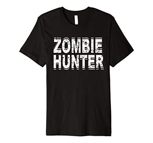 Kostüm Hunter Zombie - Zombie Hunter T Shirt Scary Halloween-Kostüm
