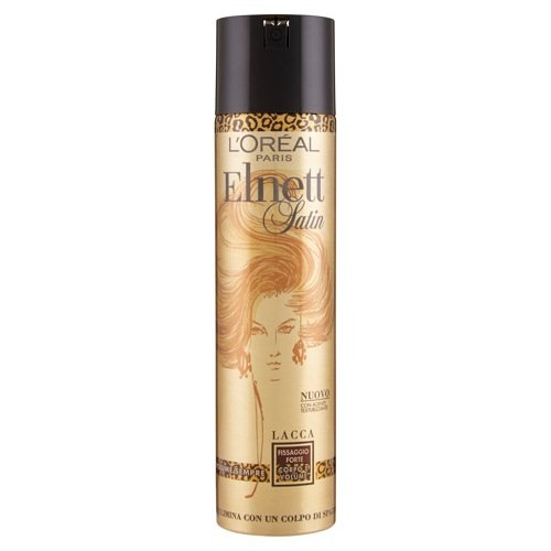 Loreal Elnett Satin Strong Fixing Body & Volume Hair Spray 250 ml with Ayur Product n Combo  available at amazon for Rs.678
