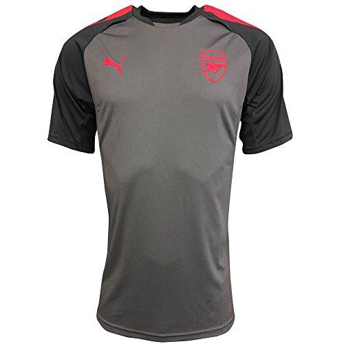2017-2018 Arsenal Puma Training Jersey (Steel Grey) - Kids