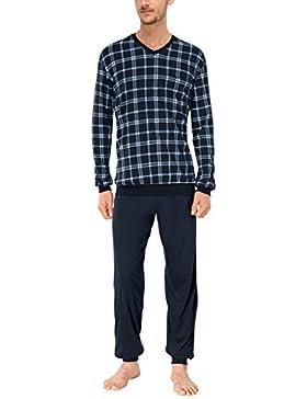 Schiesser Herren Zweiteiliger Schlafanzug Anzug Lang-146943