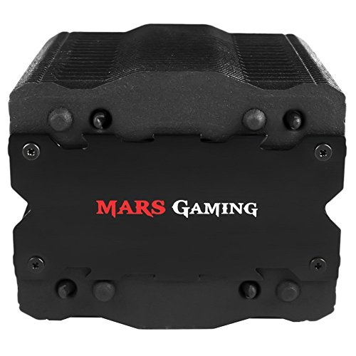Mars Gaming MCPU2 - Disipador gaming para PC, con ventilador 92 mm...