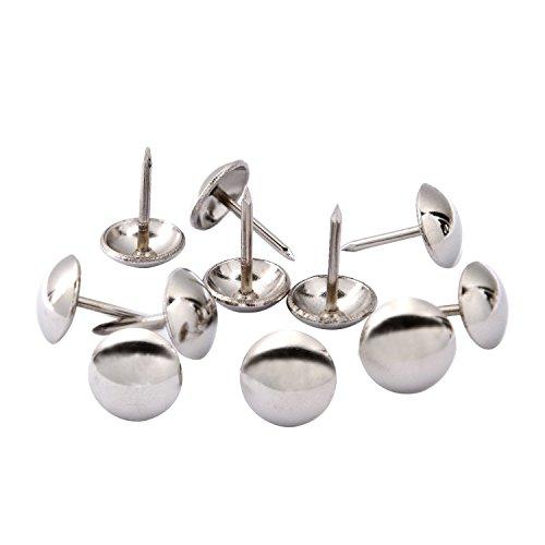 Nägel Polsternägel Möbel Nägel silber Finish Tack Pins, 7/40,6cm, 100Stücke von ()