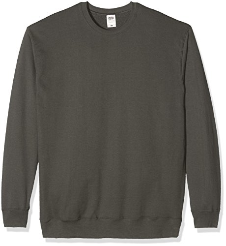 Fruit of the Loom Herren Sweatshirt Grau - Light Graphite