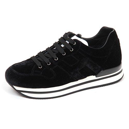 Hogan E2980 Sneaker Donna Velvet H222 Scarpe velluto Shoe Woman