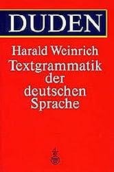 Duden Textgrammatik der deutschen Sprache