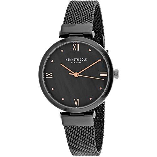 Kenneth Cole Classic Reloj de Mujer Cuarzo 33mm Correa de Acero KC50258006