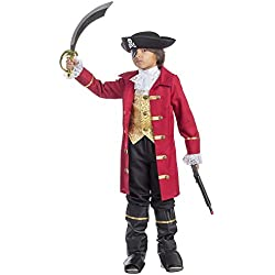 Viste a América - 795-S - Traje de Pirata para niño - 4-6 años - 107 cm Cintura