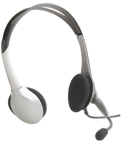 Labtec Axis 712 Digital USB Noise Cancelling Computer Stereo-Headset Digital Headset