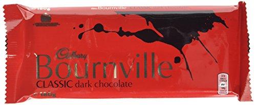 Cadbury Bournville Classic Dark Chocolate Bar 180 g