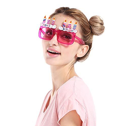 Heatnine Geburtstag Brille Spaß Kostüm lustige Partybrille Sonnenbrille Happy Birthday