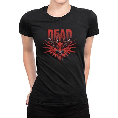 Planet Nerd - Dead Logo - Damen T-Shirt, Größe S, (Kostüm Ironfist)