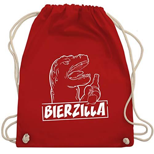 Halloween - Bierzilla - Unisize - Rot - WM110 - Turnbeutel & Gym Bag