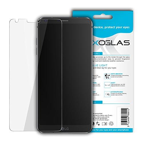 Flexoglas per lg g6 h870 protezione schermo antiurto antigraffio durezza 9h protettiva flessibile resistente come vetro temperato pellicola proteggi display filtro anti luce blu protettivo