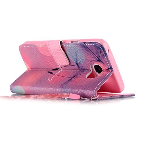 Meet de Samsung Galaxy S6 Edge Plus Bookstyle Étui Housse étui coque Case Cover smart flip cuir Case à rabat pour Galaxy S6EdgePlus / S6Edge+ Coque de protection Portefeuille - this iphone is locked s Dreaming