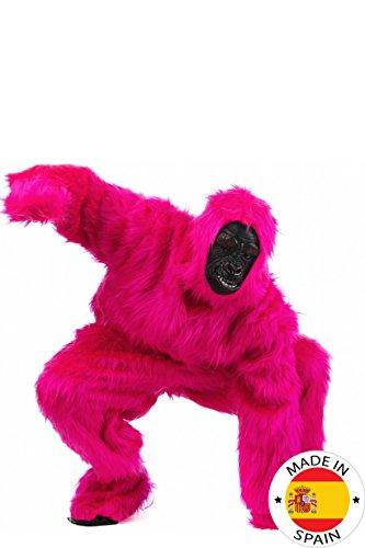 Rosa Gorilla Kostüm - Limit Sport-Kostüm Plüsch Gorilla für Erwachsene,