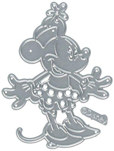 Disney World Scrapbooking (Character World Gleeful Minnie Disney Stanzformen-Set Mickey und Minnie Maus)