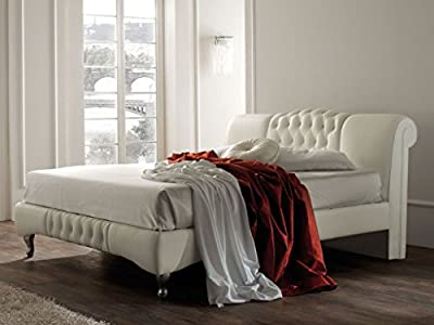 Knightsbridge White Bed Frame King Size produced by Dream Warehouse - quick delivery from UK.