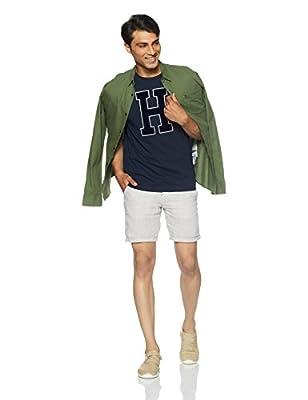 Tommy Hilfiger Men's Plain Regular Fit T-Shirt