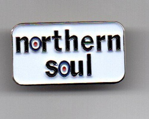 "Soul Rebel Farbe (Anstecker, Metall, Emaille, ""Northern Soul"" mit Mod-Zielscheibe)"